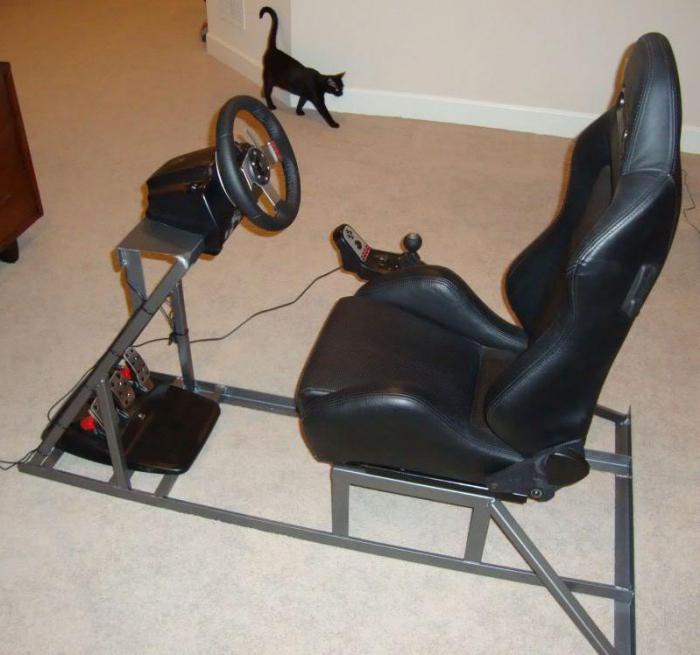 игровое кресло для гонок