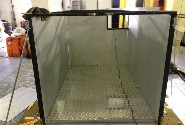изготовление изотермических будок