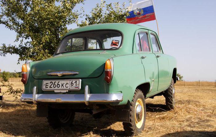 москвич 410 характеристики