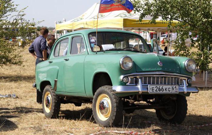 Автомобиль «Москвич 410»: технические свойства, тюнинг и отзывы