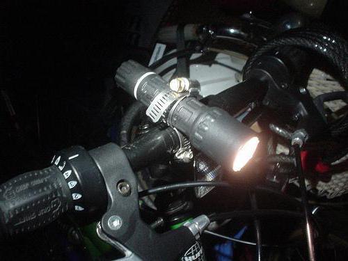 как сделать фонарик для велосипеда