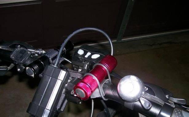фонарик для велосипеда своими руками
