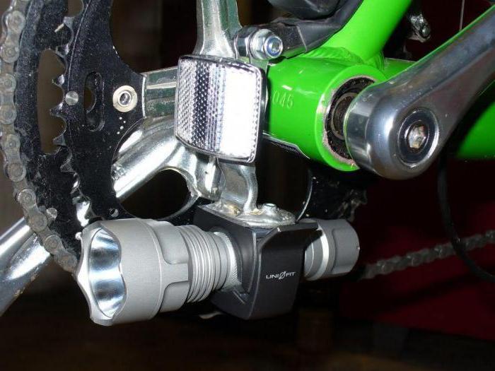 фонарик для велосипеда