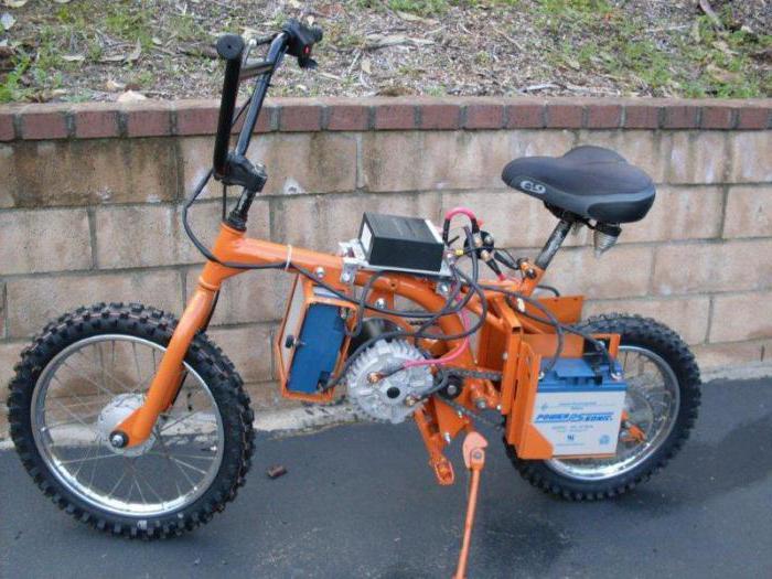 картинки самоделки электро велосипеды стоит