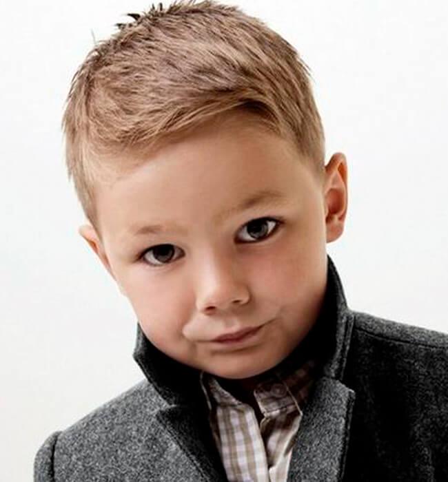 Стрижка набок для мальчиков: фото и названия