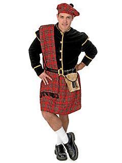 Национальная юбка шотландца