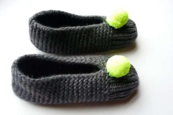 домашняя обувь своими руками