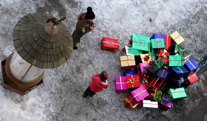 виш лист подарков