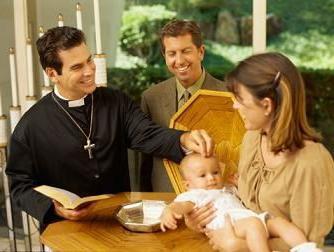 обязанности крестного отца при крещении