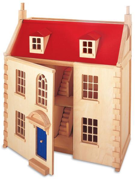 Домик для кукол из картона своими руками