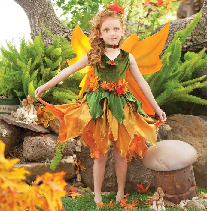 Осенний костюм на праздник осени своими руками фото 86