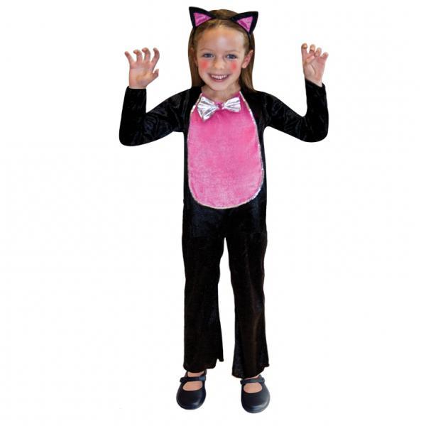 новогодний костюм кошки для девочки