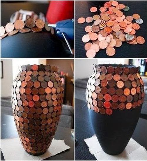 поделки из копеечных монет
