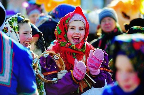 in Russia at Shrovetide
