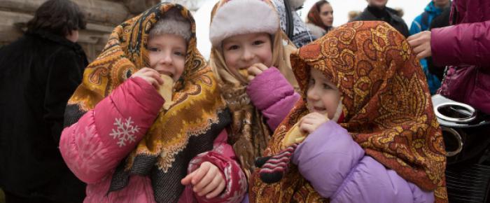 carnival celebration in Russia