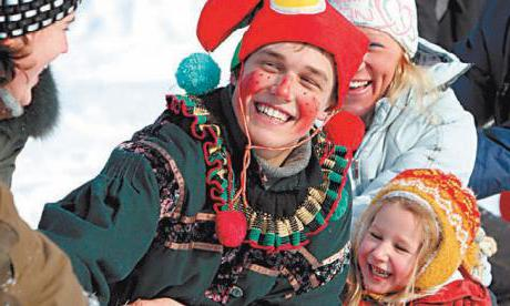 as noted Shrovetide in Russia