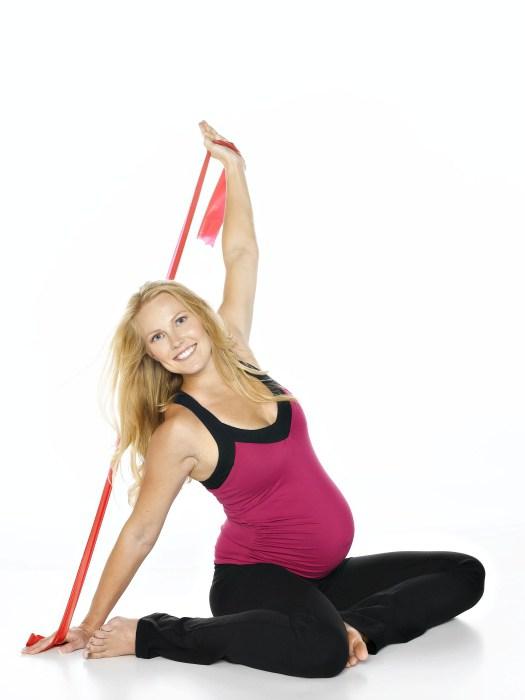 фитнес для беременных дома упражнения