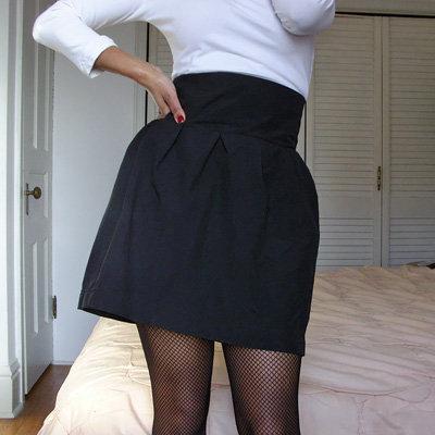 сшить юбку колокол своими руками