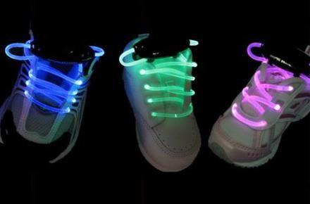Как сделать светящие шнурки в домашних условиях