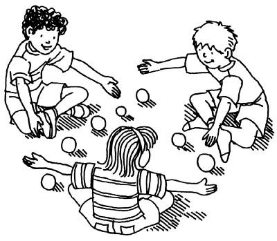 интересные подвижные игры для детей
