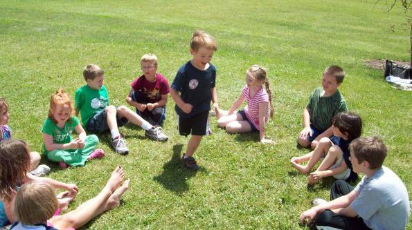 подвижные игры для детей на знакомства в лагере