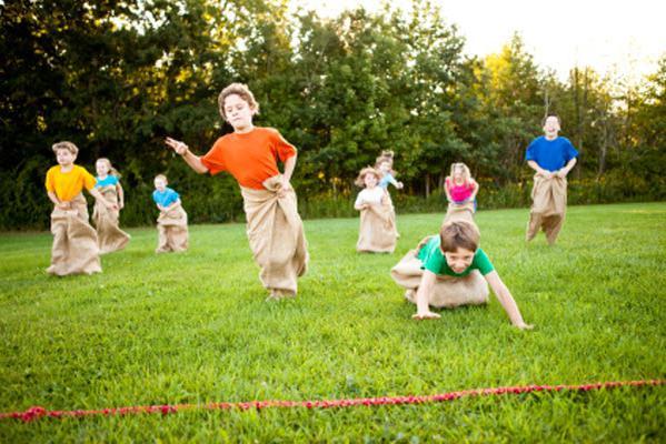 подвижные игры конкурсы для детей