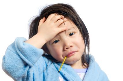 температура у ребенка без кашля и соплей