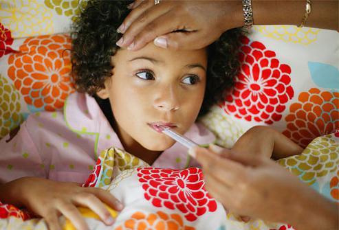 температура без соплей и кашля у ребенка комаровский