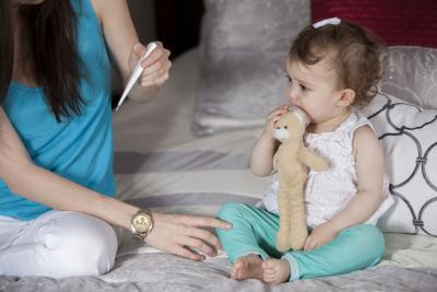 температура без соплей и кашля у ребенка 2 года
