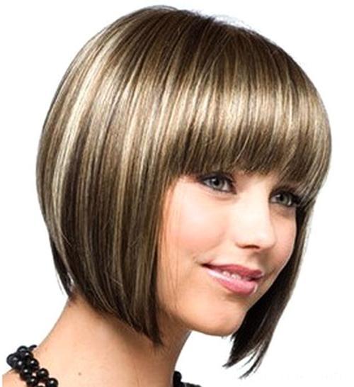 Стрижка круглое лицо тонкие волосы