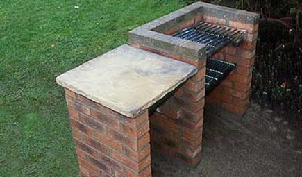Как построить барбекюшницу из кирпича своими руками