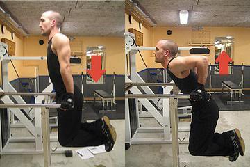 Отжимания на массу грудных мышц