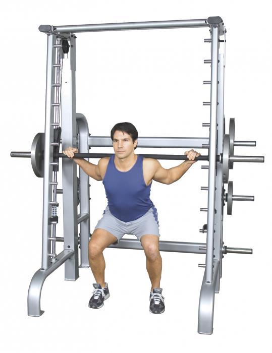 упражнения на силовом тренажере