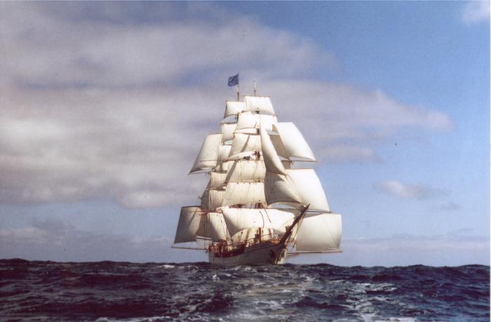 названия парусных судов