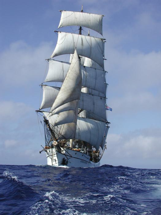 морское парусное судно