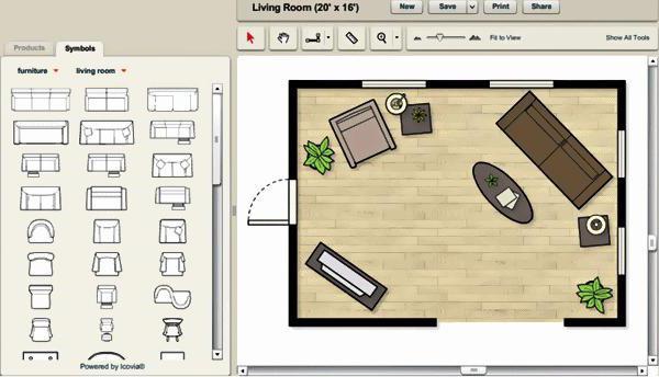 Самая обычная программа для проектирования дом