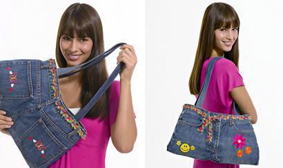Джинсовая сумка своими руками: просто и быстро