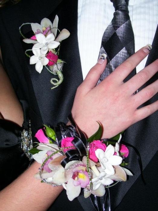 Бутоньерка синяя своими руками фото 292