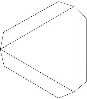 как из бумаги сделать тетраэдр