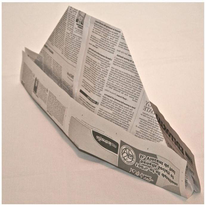 головные уборы из бумаги