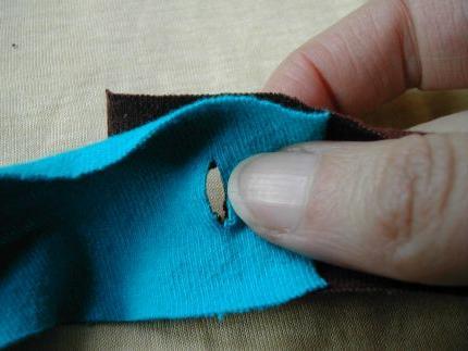 Вязание коврика