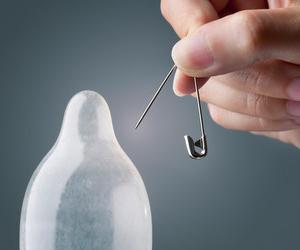 Во время секса презерватив может порваться
