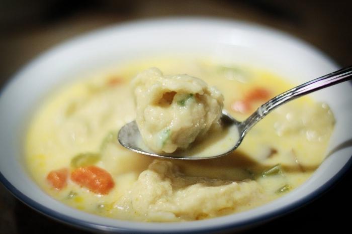 рецепт супа с галушками по полтавски