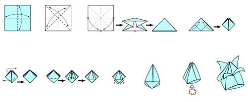 """Оригами """"тюльпан"""" - весеннее настроение круглый год"""