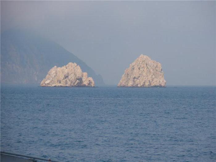 Пляжи Гурзуфа: фото с описанием