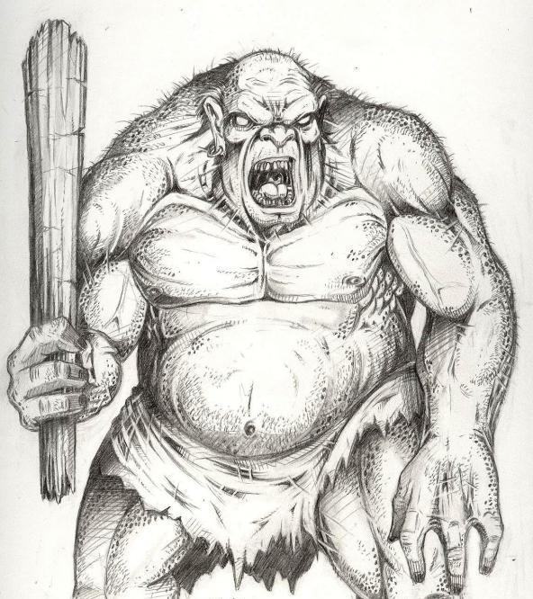How to draw a Troll warrior? Introduction to create fierce creatures