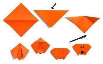 бумагопластика схемы для детей