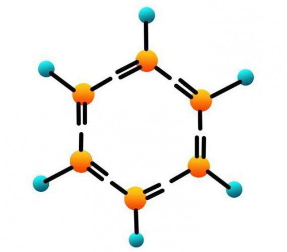 бензол структурная