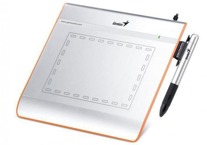 как пользоваться графическим планшетом genius