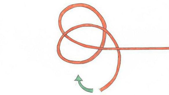 Как вязать узлы на шпуле